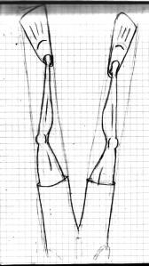 legs sketch