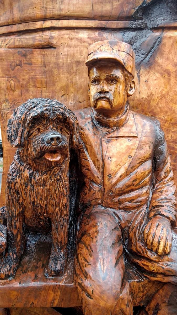 Wood carving restoration time lapse custom sculpture